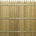 Stockade Fence Panel